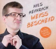 NILS HEINRICH Weiss Bescheid CD 2011 * NEU