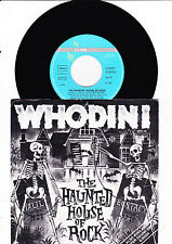"""7"""" Whodini - The Haunted House of Rock ---------"""