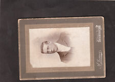 C1900 Original Mounted Photo of a Young Man, Taken in Louth Lincolnshire
