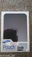 Samsung P4 Leather Pouch Black for Galaxy Tab 10.1 Tablet EFC-1B1LBECSTD