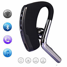 Black Wireless Stereo Bluetooth Headset Earpiece For Samsung Galaxy S7 Edge PDA