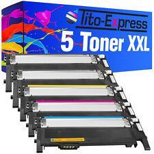5 Toner für Samsung CLP360 N CLP365 W CLX3300 CLX3305 FN Xpress C410 C460 W FW
