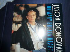 Maxisingel Jason Donovan Too Many Broken Hearts