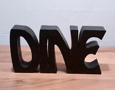 """FREE STANDING WOODEN PLAQUE """"DINE""""wooden letters"""