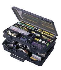Meiho Versus 3070 Doppelklappbox Angelkoffer Gerätekasten Kleinteile Forellenbox