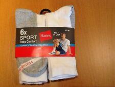 Hanes - Herren Sportsocken Extra confort-6er Pack ,USA Nr 1....