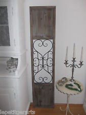 Türe Shabby chic France Fensterladen  Antik finish Wanddeko Vintage