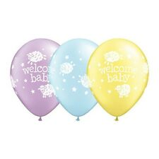 Party Decorations Baby Shower Welcome Baby Lambs Pack of 10