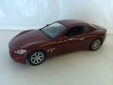 MASERATI GRANTURISMO RED 1:43 - DIECAST MODEL CAR COLLECTION - SPORT CARS IXO