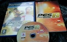 Pro Evolution Soccer 6 (Sony PlayStation 2, 2006)  great footy game complete