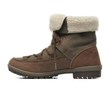 Womens Merrell Emery Lace Brown Leather Lace Up Ankle Warm Winter Boots Size 4.5