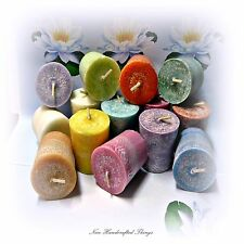 Candles Votive x 48 - highly fragrant - 15 hours burn time each - palm wax