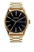 Original Nixon The Sentry SS All Gold / Black Watch A356-510