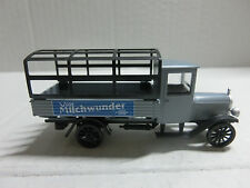 1:87 Märklin Oldtimer Benz Pritschenwagen mit Spriegel Milchwunder (03Sch3/1)