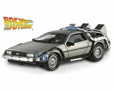 1:18 Back To The Future De Lorean Diecast Movie Car By Hot Wheels CHEAP