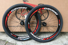 "Brand New Cyber 26"" Bicycle Wheels MTB Wheelsets Black for SHIMANO SRAM 8S/9S/10"