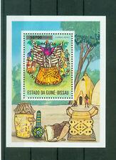 Guinea-Bissau,Mi.Nr.Block 11 b roter Aufdruck UPU Weltpostkongress,selten,rar