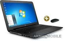 "HP 15 - QuadCore Notebook - 15,6"" - AMD E2-6110 - 500GB - 4GB - WebCam-Windows 7"