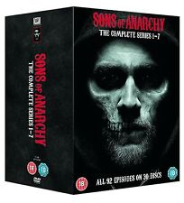 SONS OF ANARCHY COMPLETE SERIES BOXSET 30 DISC DVD R4