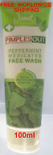 Janet PIMPLES OUT PEPPERMINT FACE WASH x1 Herbal Ayurveda 100%-POSITIVE-SELLER
