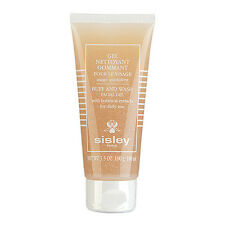Sisley Buff and Wash Facial Gel w/ Botanical Extracts 3.5oz,100ml Cleanser #9764