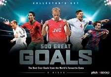 BRAND NEW 500 Great Goals (DVD, 2016, 5-Disc Set) R4 FIFA Soccer