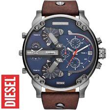 ✅ DIESEL Uhr DZ7314 MR. DADDY 2.0 Chronograph XXL mit Lederarmband | NEU + OVP