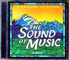 THE SOUND OF MUSIC Rodgers & Hammerstein New Broadway Cast Rebecca Luker 1998 CD