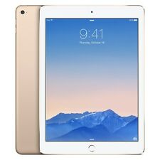Apple iPAD Air 2 64GB Wi-Fi Tablet 2nd Gen. White - Gold / Brand New