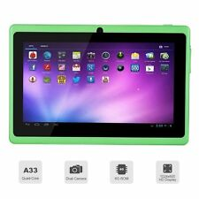 "7"" inch Android 4.4 Quad Core Tablet PC MID 8GB Dual Camera Wifi Bluetooth Green"