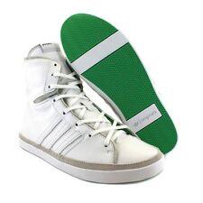 New Adidas Originals Women Blue Haze Hi Top Trainers White & Mint 9