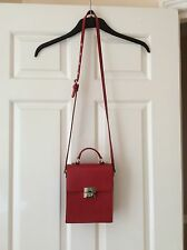 Zara Small Red Bag, Used