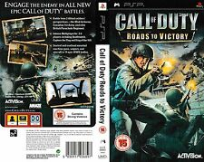 Call of Duty: Roads to Victory - Sony PSP Game - disc only XA