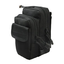 Military Molle Tactical First Aid Kit Medic Pouch Medical Belt Bag Hunting Black