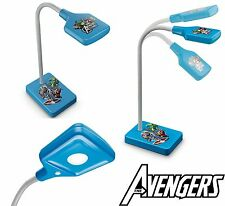 Philips Marvel Avengers Table Lamp Kids Light Night LED Desk Gift Bedroom Boys