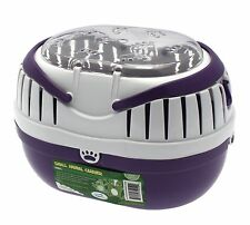 Happy Pet Small Purple Animal Carrier for hamsters, gerbils, mice, reptile
