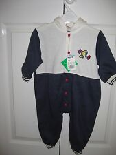 Baby's All in One - 6 months - with hood from Debenhams BNWT