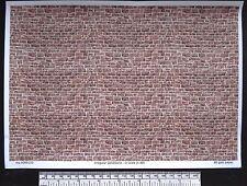 O gauge (1:48 scale) irregular sandstone paper - A4 sheet
