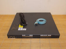 Cisco DS-C9124-K9 MDS Switch 4-Gbps FC 2xM9124PL8-4G License ALL  PORTS ACTIVE