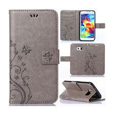 Handy Tasche Für Samsung Galaxy S6 Edge Schutz Hülle Flip Case Etui Wallet Cover