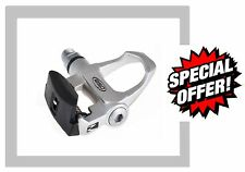 Pair LOOK Keo Silver Road Clipless Pedals Alloy Cleats Adjustable RSP RPE011s