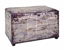 Sitztruhe 30786 Sitzbank Truhe Spielzeugkiste Kiste Vintage