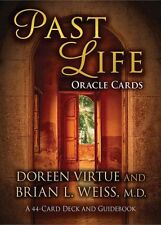 Past Life Oracle Cards: A 44-Card Deck and Guidebook 9781401943677, Paperback