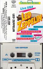 LED ZEPPELIN - Live USA *Live & Alive ★ MC Musikkassette Cassette