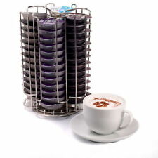 New 52 Rotating Tassimo Coffee Expresso Machine Capsule Pod Holder Rack Holds #B