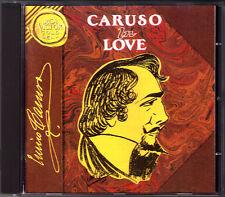 Enrico CARUSO IN LOVE Verdi Flotow Puccini Bizet Rotoli Posadas Noche feliz CD