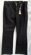 Autograph STRETCH denim Black Boot cut shapes + lifts Miracle Jeans size 26 NEW