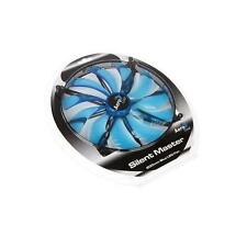 EN55642 Aerocool Master Silent LED Case Fan Blue - 200mm