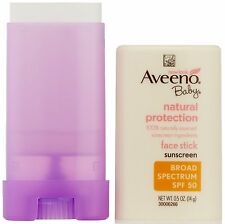 Aveeno Sun Natural Protection Baby SPF 50 Stick, 0.5 oz