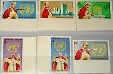 TOGO 1966 494-99 B 549-52 C49-50 imperf Visit Pope Paul VI UNO New York MNH